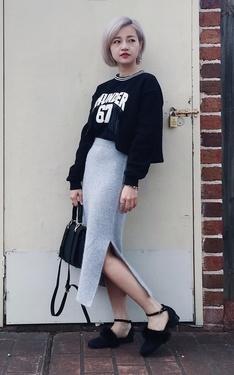 時尚穿搭:Black&Gray