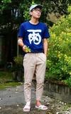 BLUEBLUE JAPAN T的時尚穿搭