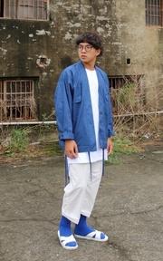 PLAIN-ME 斜紋日式NORAGI外套的時尚穿搭