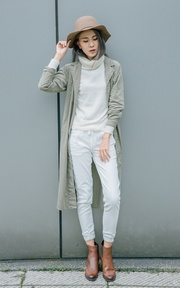 UNIQLO UNIQLO 喀什米爾高領毛衣(長袖)的穿搭