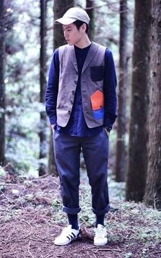 時尚穿搭:森林浴