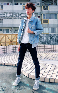時尚穿搭:汗水藍