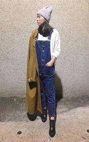 MYMS 長版大衣外套的穿搭