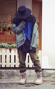 NEXHYPE 超長袖 TEE的穿搭