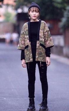 時尚穿搭:一日兵