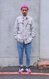 COP BY PLAIN-ME 無領外套的時尚穿搭