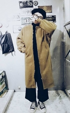 時尚穿搭:個性簡約風