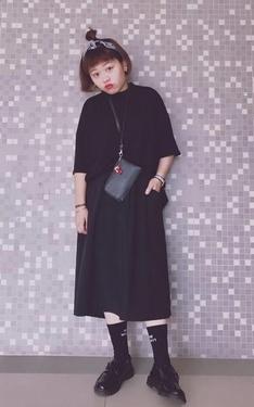 時尚穿搭:黑色