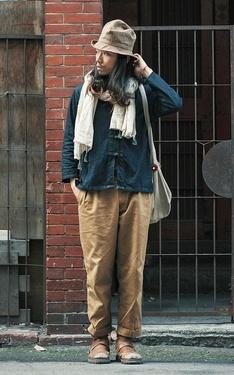 時尚穿搭:大稻埕回眸的旅人