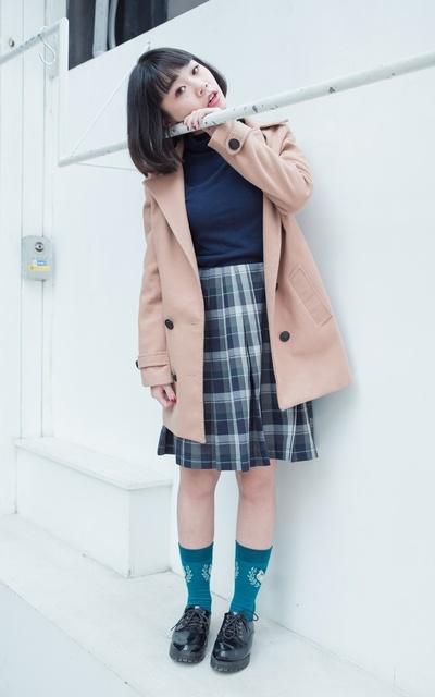 適合球襪、日系混搭、學生裙、我妹妹的、BALL SOCKS的穿搭