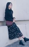 CIRCLE'S CINEMA 百褶裙的時尚穿搭