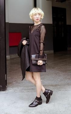 時尚穿搭:黑色派對