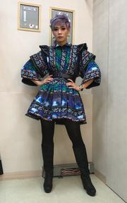 H&M X KENZO H&M X KENZO民族風洋裝的穿搭