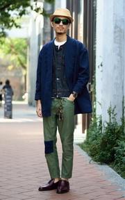 10 DEEP 漢字老虎刺繡和服的時尚穿搭