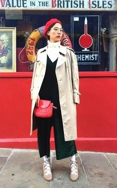 時尚穿搭:新年到就是要有紅色元素