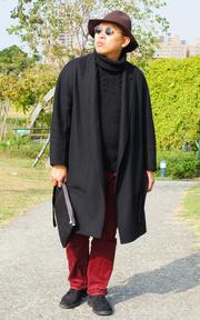 ZARA 高領毛衣的時尚穿搭