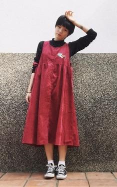 時尚穿搭:小紅孕婦裝