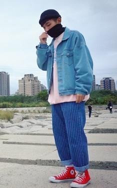 時尚穿搭:單寧x丹寧