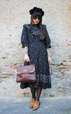 時尚穿搭:Vintage Black Dress