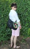 網購韓貨 粉紅短褲的時尚穿搭