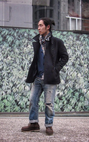 NONNATIVE P-COAT的穿搭
