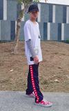 KAPPA KAPPA BANDA針織長褲的時尚穿搭