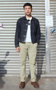 LEVIS VINTAGE CLOTHING 506 XX的時尚穿搭