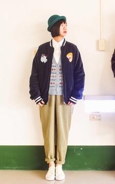 時尚穿搭:日系復古