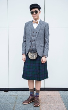 時尚穿搭:Day 73: Scottish Gentleman*