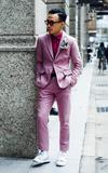 時尚穿搭:粉紅