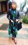 STYLENANDA 釦帶造型尖頭低跟鞋的時尚穿搭