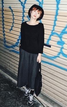 時尚穿搭:黑色系