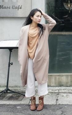 時尚穿搭:初春x裸