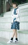 PAZZO 花朵洋裝的時尚穿搭