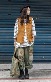 無品牌 HUNTING VEST 獵裝背心的時尚穿搭