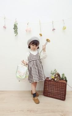 時尚穿搭:小小孩的春日搭配X居家日式鄉村風花藝佈置