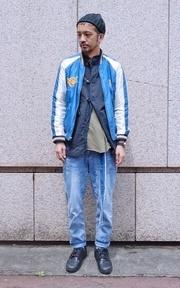 BEAMS 橫須賀外套的穿搭