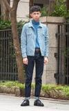 時尚穿搭:One tone - blue