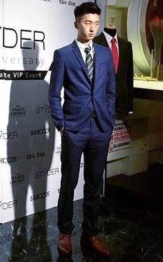 時尚穿搭:藍色西裝 Blue Suit