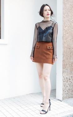 時尚穿搭:張小丹style之韓妞LOOK