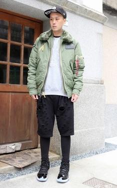 時尚穿搭:Amilio Tsai 2017-04-26的搭配