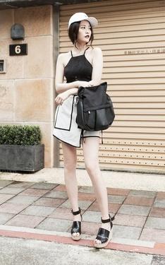 時尚穿搭:張小丹style之最愛黑白配