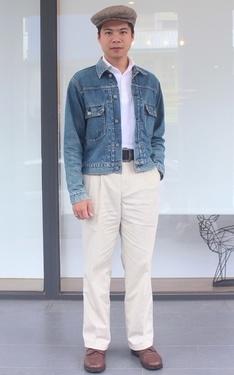 時尚穿搭:50's 休閒卡其褲
