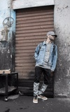 XOTIC GEAR LONG RINGED STRAP BACK GREY HAT的時尚穿搭