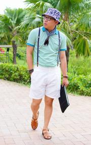 GU 羅馬涼鞋的時尚穿搭