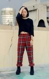 NET 寬鬆睡褲的時尚穿搭