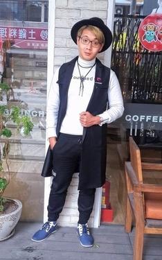 時尚穿搭:長披風~