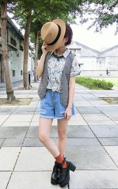 時尚穿搭:花花草草