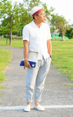 時尚穿搭:對抗炎夏。