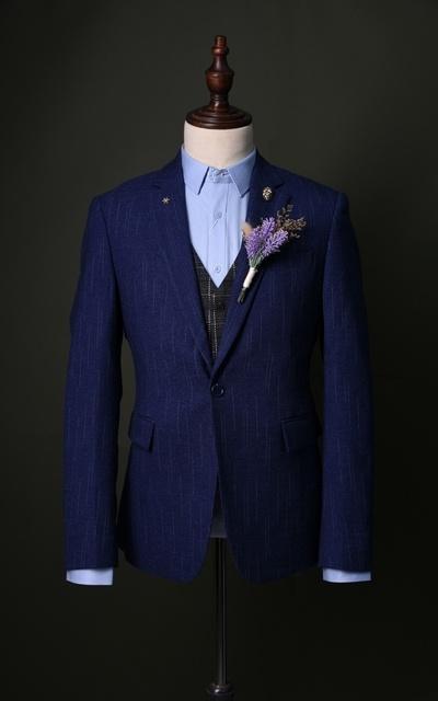 適合#紳士、#英式、成套西裝的穿搭